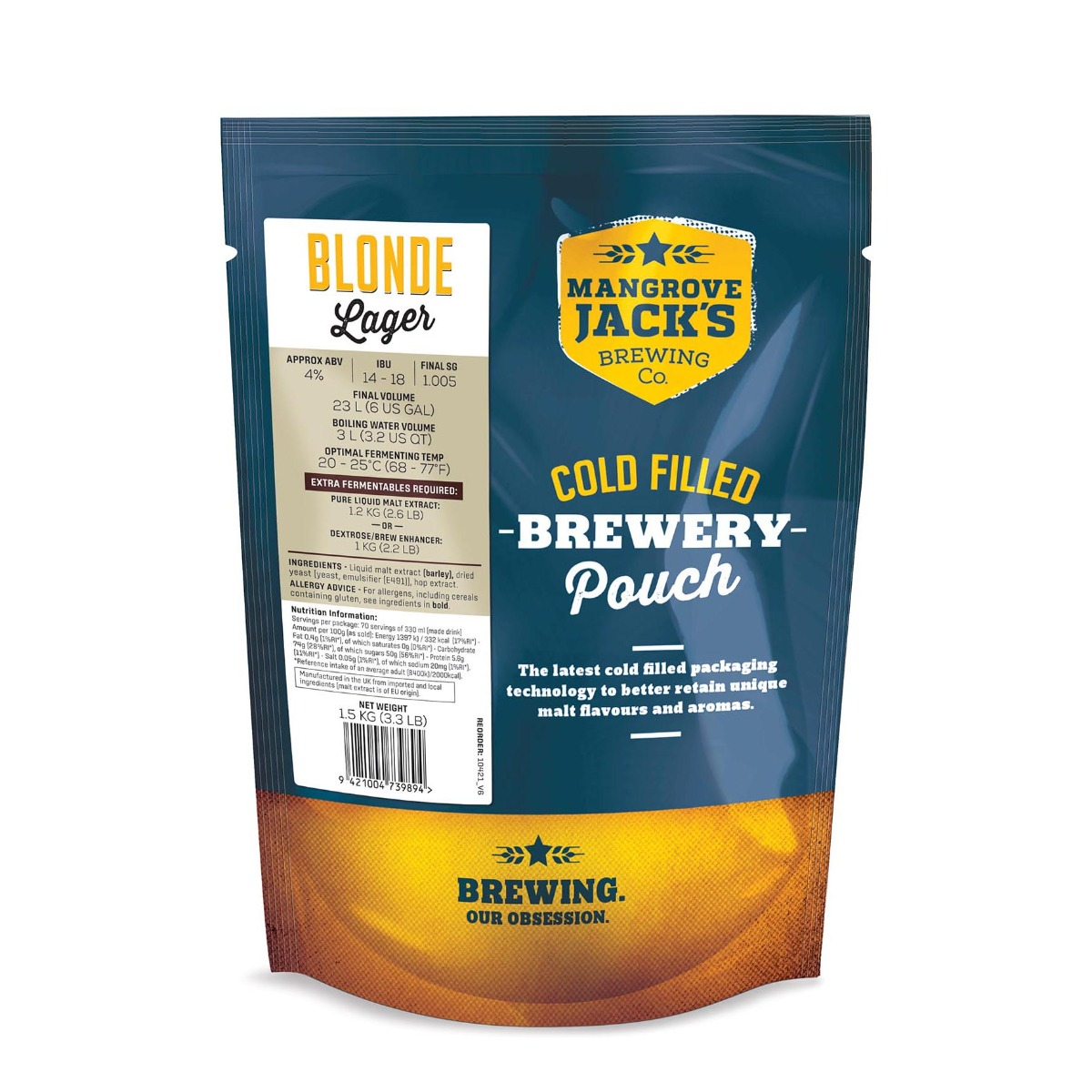 Mangrove Jack's Traditional Blonde Lager
