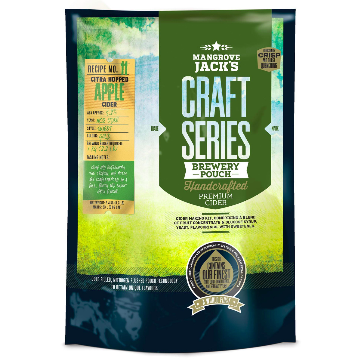 Mangrove Jack's Citra Hopped Apple Cider Pouch