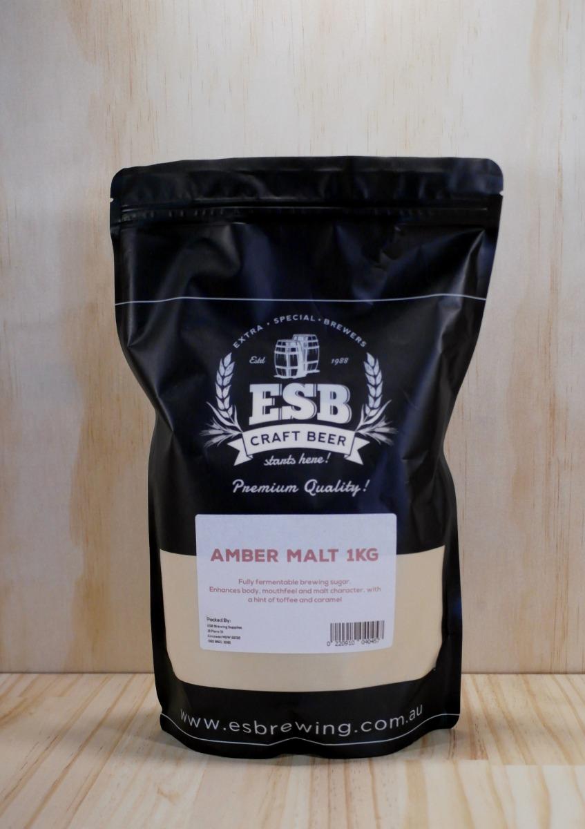 Amber dried Malt 1kg