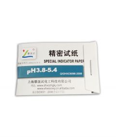 10 Narrow Range pH Papers 3.8 - 5.4