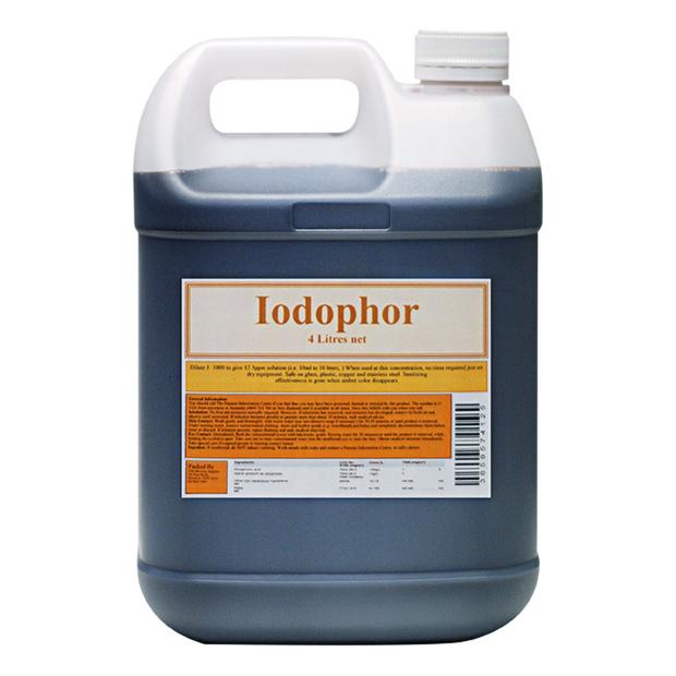 Iodophor 4 litre