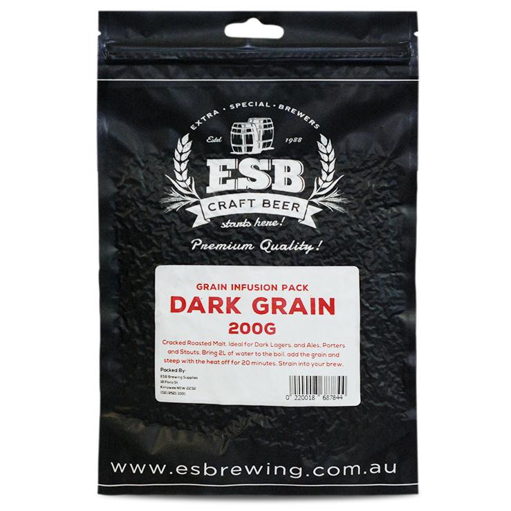 Grain Infusion Pack  200g  Dark Grain
