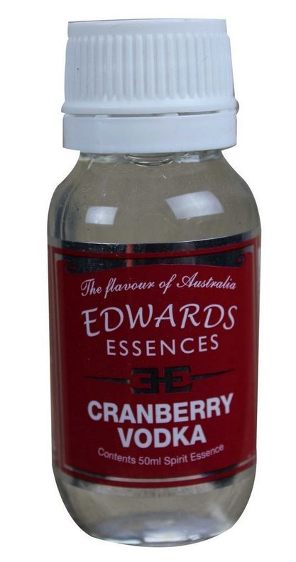 Edwards Essences Cranberry Vodka
