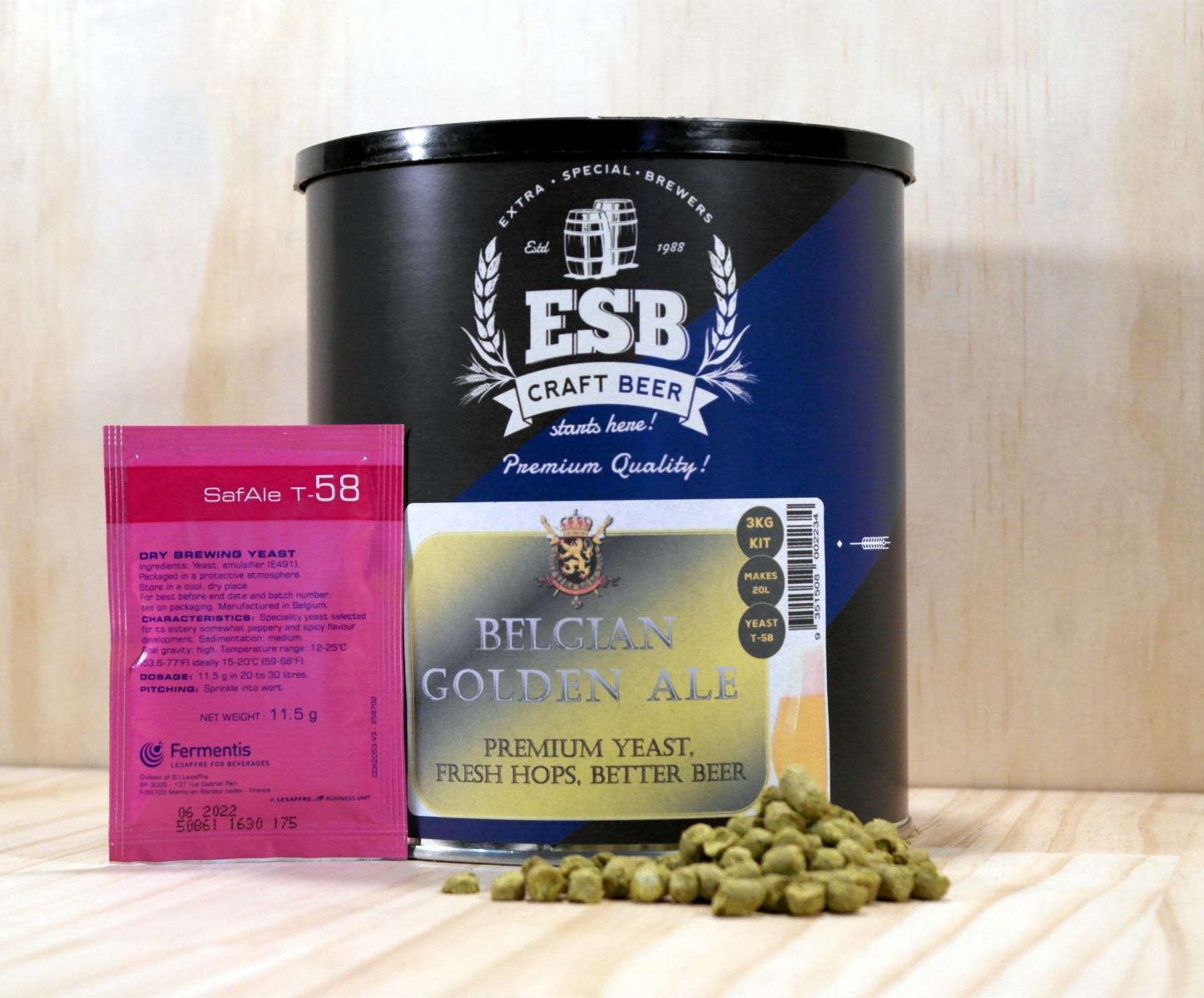 ESB 3kg Belgian Golden Ale