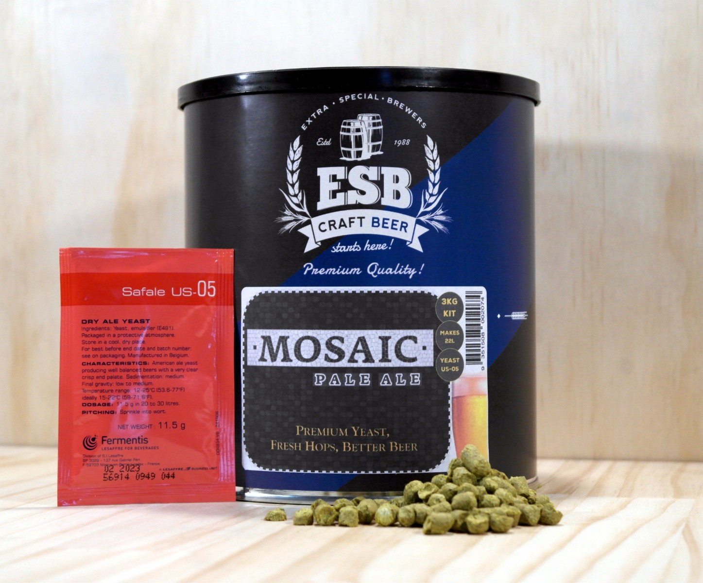 ESB 3kg Mosaic Pale Ale