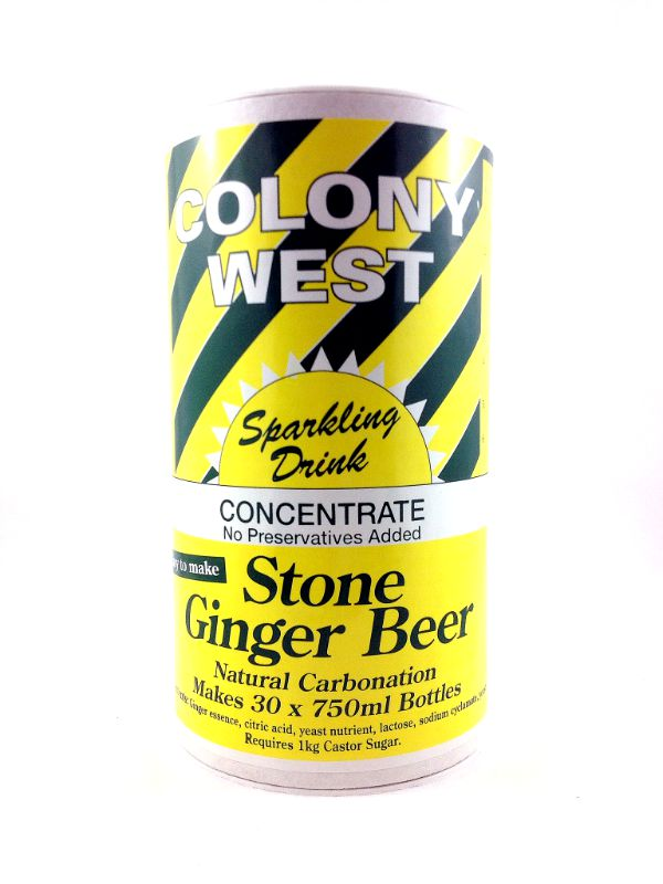 colony west stone ginger beer