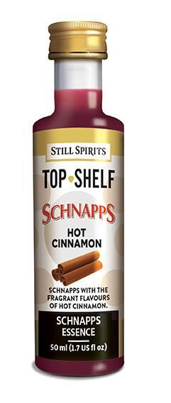 Still Spirits Top Shelf Hot Cinnamon Schnapps