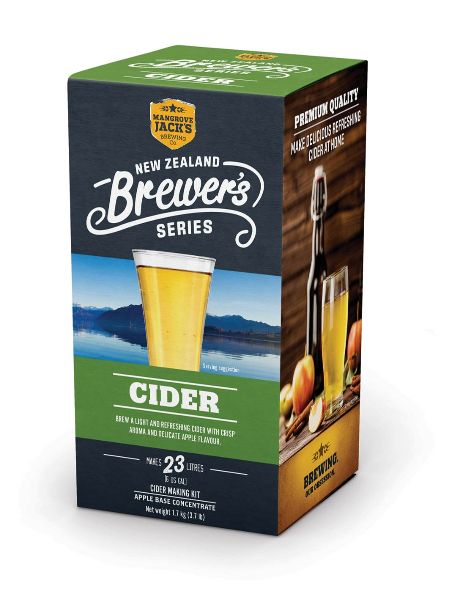 Mangrove Jack's New Zealand Brewers Series Apple Cider