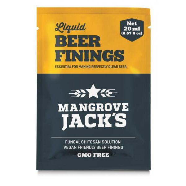 Mangrove Jack Liquid Fining