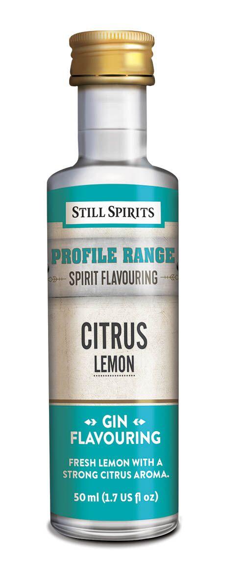 Still Spirits Gin Profile - Citrus - Lemon
