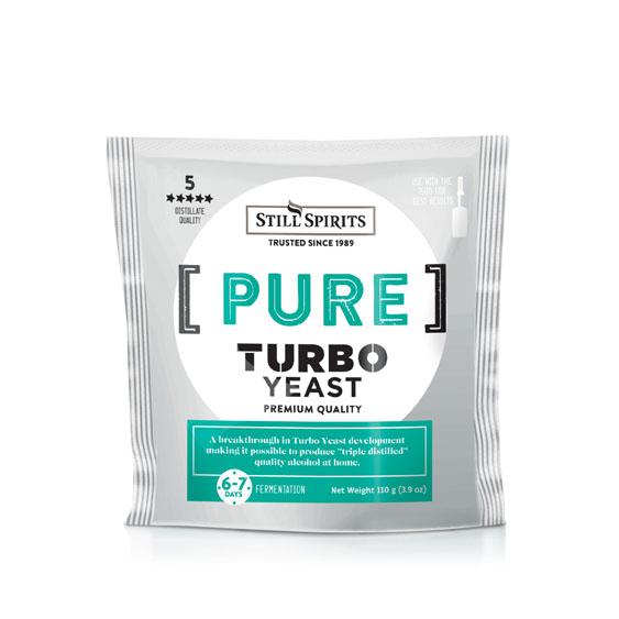 Still Spirits Pure Turbo Yeast (210g)
