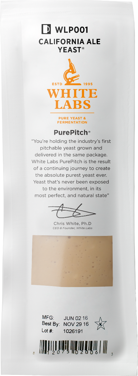 White Labs WLP080 Cream Ale Yeast Blend